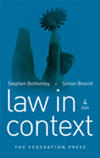 Bottomley, Law in Context