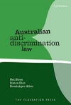 Australian anti-discrimination law 2nd edition